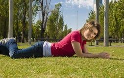 счастливое teenger Стоковые Фотографии RF
