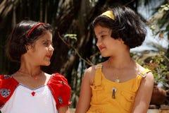 Счастливые азиатские подруги Стоковые Фото