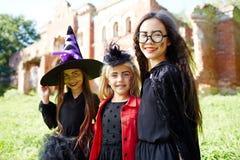 Счастливые ведьмы Стоковая Фотография RF