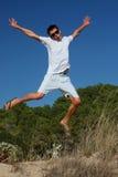 счастливые детеныши человека Стоковая Фотография RF