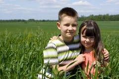 Счастливые дети Стоковое Изображение RF