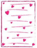 Счастливые дизайн и иллюстрация карточки предпосылки вектора дня валентинки Стоковые Изображения RF