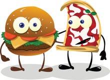 Счастливые друзья еды Стоковая Фотография RF