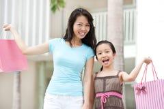Счастливые клиенты Стоковое фото RF