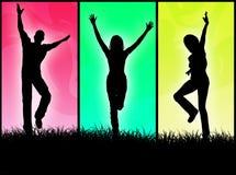 счастливые люди Стоковые Фотографии RF