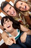 счастливые люди Стоковые Изображения