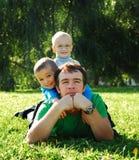 счастливые люди Стоковые Фото