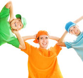 счастливые люди Стоковые Изображения RF