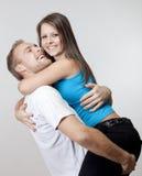 Счастливые молодые пары Стоковые Изображения