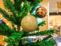 Счастливые Новый Год и рождество для вашей предпосылки Стоковое Изображение RF