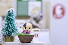 Счастливые Новый Год и с Рождеством Христовым с животными Стоковая Фотография RF