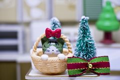 Счастливые Новый Год и с Рождеством Христовым с животными Стоковое Фото