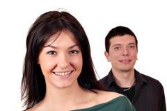 Счастливые пары Стоковая Фотография RF