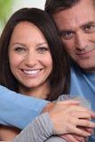Счастливые пары Стоковое Изображение RF