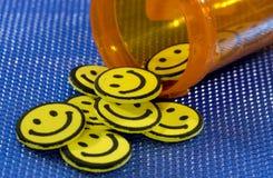 Счастливые пилюльки Стоковое Изображение RF