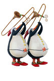 счастливые пингвины Стоковое Изображение