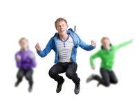 счастливые подростки Стоковые Изображения RF