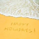 Счастливые праздники Стоковое Изображение RF