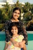 счастливые сестры 2 Стоковое Фото