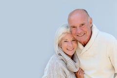 Счастливые старшие пары Стоковые Изображения