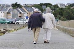 счастливые старшии Стоковые Изображения RF