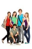 счастливые студенты Стоковые Изображения RF