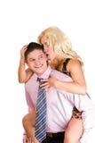 счастливые супруги Стоковая Фотография RF