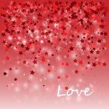 Счастливые элементы дня валентинок и дизайна weeding также вектор иллюстрации притяжки corel Розовая предпосылка с орнаментами, c иллюстрация штока