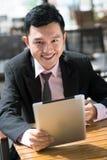 Счастливый бизнесмен Стоковое фото RF