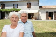 счастливый выход на пенсию Стоковые Изображения RF