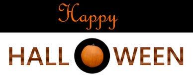Счастливый графический дизайн приветствию хеллоуина бесплатная иллюстрация