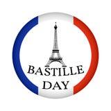 Счастливый день Бастилии Стоковая Фотография RF