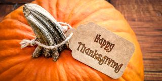 Счастливый день благодарения стоковое фото rf