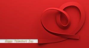 Счастливый день Валентайн Стоковое Изображение