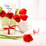 Счастливый день матерей Стоковые Изображения