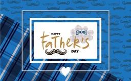Счастливый день ` s отца бесплатная иллюстрация