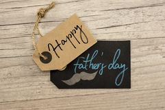 Счастливый день ` s отца Стоковое Изображение