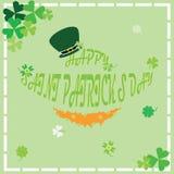 Счастливый день ` s St. Patrick иллюстрация штока