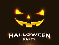 Счастливый дизайн партии хеллоуина также вектор иллюстрации притяжки corel Стоковые Фотографии RF