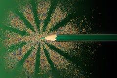 счастливый карандаш Стоковые Фото
