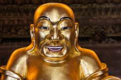 Счастливый китайский бог богачей стоковые изображения rf