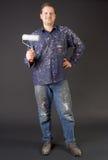 счастливый колеривщик дома Стоковые Фотографии RF