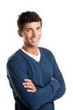 счастливый латинский усмехаться человека стоковое фото rf