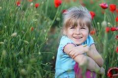 счастливый малыш Стоковая Фотография