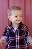 Счастливый малыш Стоковые Изображения