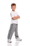 Счастливый мальчик стоковые фотографии rf