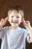 Счастливый мальчик стоковая фотография