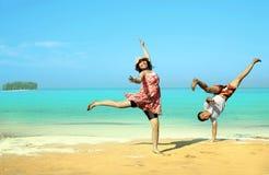 счастливый медовый месяц Стоковое Изображение RF