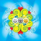 счастливый мир Стоковая Фотография RF