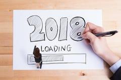 Счастливый Новый Год нагружает Стоковые Изображения RF